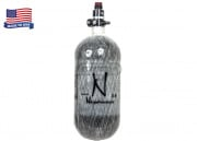 Ninja 90CI/4500 PSI HPA System Gray Carbon Fiber Tank w/ Pro SLP Regulator for HPA Airsoft