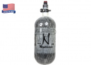 Ninja 90CI/4500PSI HPA System Gray Carbon Fiber Tank for PolarStar w/ Pro SLP Regulator