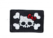 ORCA Industries Kitty Pirate Flag Patch (Black)
