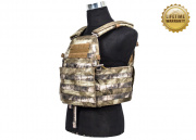 Pantac USA 1000D Cordura LT6094 Low Profile Plate Carrier (A-TACS/Medium)