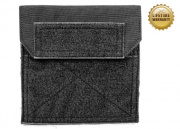 Pantac USA 1000D Cordura Molle Medium Admin Pouch ( Black )