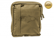 Pantac USA 1000D Cordura Amoeba Tactical MALICE Utility Pouch (Coyote Brown/Large)