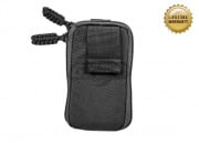 Pantac USA 1000D Cordura Molle Zippered Drop Pouch (Small/Black)