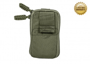 Pantac USA 1000D Cordura Molle Zippered Drop Pouch (Small/Ranger Green)