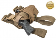 Pantac USA 1000D Cordura Hurricane Dropleg Holster (Coyote Brown)