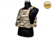 Pantac USA 1000D Cordura Chest Plate Carrier (A-TACS/Large)