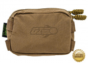 Pantac USA 1000D Cordura Molle Mini Utility Pouch (Coyote Brown)