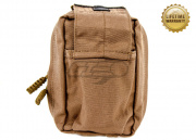 Pantac USA 1000D Cordura Molle Spec Ops Medic Pouch (Coyote Brown/Small)