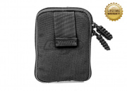 Pantac USA 1000D Cordura Molle Zippered Drop Pouch (Medium/Black)