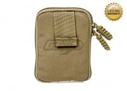 Pantac USA 1000D Cordura Molle Zippered Drop Pouch (Medium/Coyote)