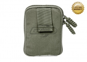 Pantac USA 1000D Cordura Molle Zippered Drop Pouch ( Medium / Ranger Green )