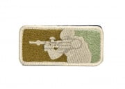 Lancer Tactical Airsoft Patch (Camo)