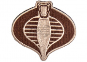 Lancer Tactical Cobra Patch (Tan)