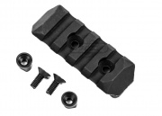PTS Polymer Enhanced Rail Section Keymod 4 Slots (Black)