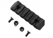 PTS Polymer Enhanced Rail Section KeyMod 5 Slots (Black)