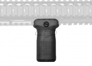 PTS Enhanced Polymer Vertical Fore Grip Compact w/ Storage (Black)