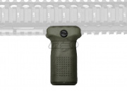 PTS Enhanced Polymer Vertical Fore Grip Compact w/Storage (Olive Drab)