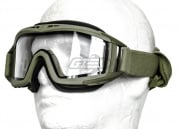 Revision Desert Locust Extreme Weather Goggles Basic Kit (Foliage Green/Clear)