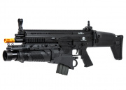 Classic Army FN SCAR-L Airsoft Gun/Lancer Tactical Grenade Launcher Grenadier Package Deal