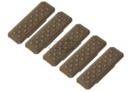 Strike Industries Reinforced Ver. 1 M-LOK Cover - 5 Pack (Tan)
