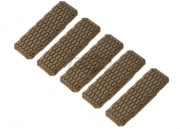 Strike Industries Reinforced Ver. 2 M-LOK Cover - 5 Pack (Tan)