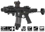 Spartan 300 Blackout SRX 303 CQB Carbine AEG Airsoft Gun By VFC (Black)