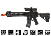 Spartan Full Metal SRX 300 Blackout Series SRX 309 Carbine AEG Airsoft Gun By VFC
