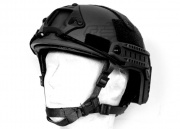 Spartan Head Gear MH Type Helmet (Black)