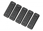 Strike Industries Nylon Reinforced Polymer M-LOK Cover - V1 (5 Pack/Black)