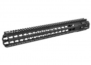 "Strike Industries 16"" Mega Fins XL Handguard KeyMod Rail (Real Firearm/Black)"