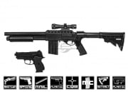 S & W Tactical Duty Kit, Airsoft Spring Shotgun and CS 45 Airsoft Pistol