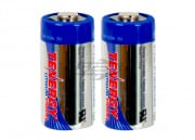 Tenergy CR123A 3.0V 1400mAH Lithium Battery (2 Pack)