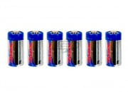 Tenergy CR123A 3.0V 1400mAH Lithium Battery (6 Pack)