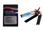 Tenergy LiPo 11.1V 1000mAh 20C Tri-Panel Battery & Charger Package