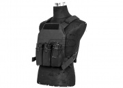 Lancer Tactical FO Assault Plate Carrier Plate Carrier (Black)