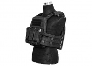 Lancer Tactical Adaptive Plate Carrier  (Black)