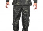 Tru-Spec Tactical Response BDU Pants 50/50 Nylon Cotton Ripstop (Multicam Black S/M/L/XL)