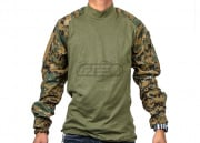 Tru-Spec Combat Shirt (Woodland Digital/XS/S/M/L/XL)