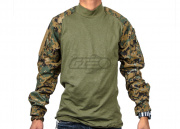 Tru-Spec Combat Shirt (Woodland Digital/MD/Regular)