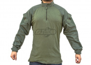 Tru-Spec Tactical Response BDU Shirt 50/50 Nylon Cotton Ripstop (OD Green/XL /Long)