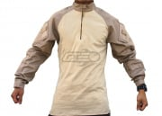 Tru Spec TRU Tactical Response 1/4 Zip Combat Shirt (Khaki-Sand/M/Regular)