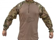 Tru Spec TRU Tactical Response 1/4 Zip Combat Shirt (MultiCam-Coyote/L/Regular)