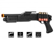 UK Arms M180A1 M3 Spring Shogun Airsoft Gun (Black)