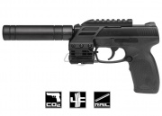 Umarex T.D.P. 45 Tac .177 CO2 Pistol Airgun (Black)