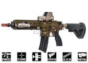 Elite Force H&K 416 CQB with Case Limited Edition (Bronze/O.D.) Airsoft Gun by VFC