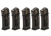 Elite Force H&K 420rds G36 High Capacity AEG Magazine (5 Pack / Black)