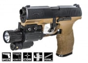 Elite Force Walther PPQ Spring Pistol Airsoft Gun (Dark Earth/Black)
