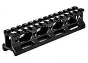 "UTG Super Slim Picatinny 1"" Riser Mount 13 Slots"