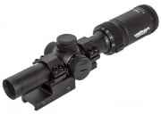 Valken V-Tac Tactical 1-4x20 Mil-dot Red/Green Illumination Scope w/ Mount