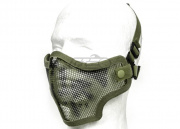 Valken Tactical 2G Wire Mesh Tactical Mask (OD Green Skull)